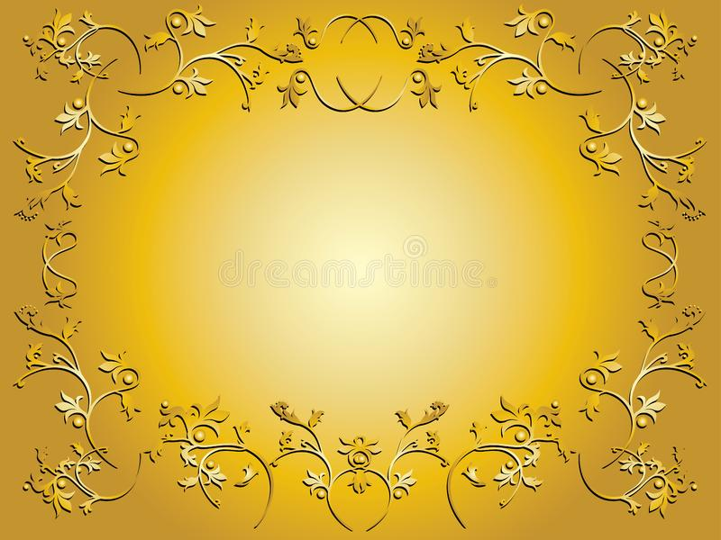 Floral frame stock photos