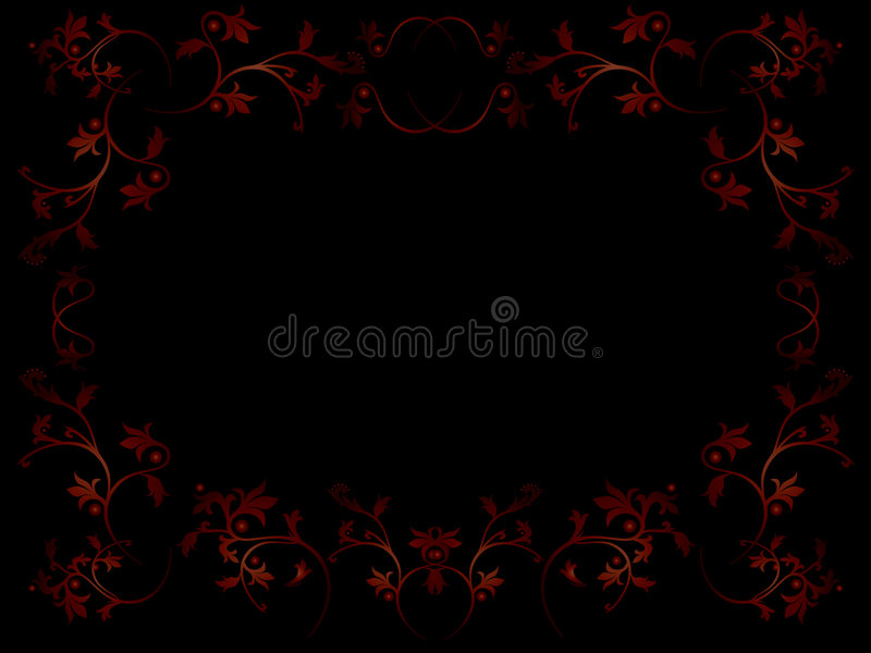 Download Floral frame stock vector. Image of ornament, holiday - 5070693