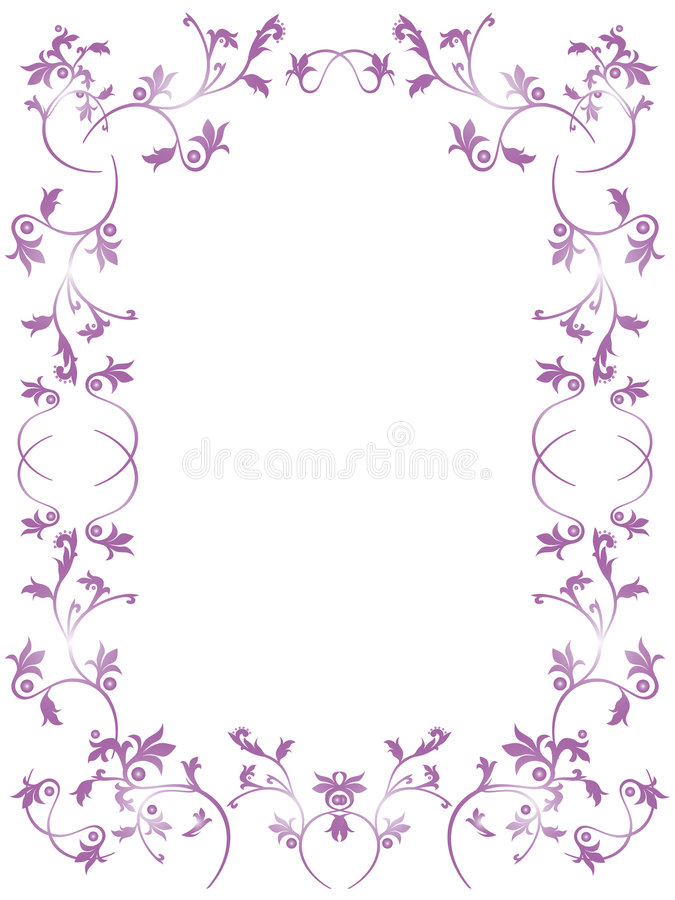 Download Floral frame stock vector. Image of border, holiday, abstract - 5071209