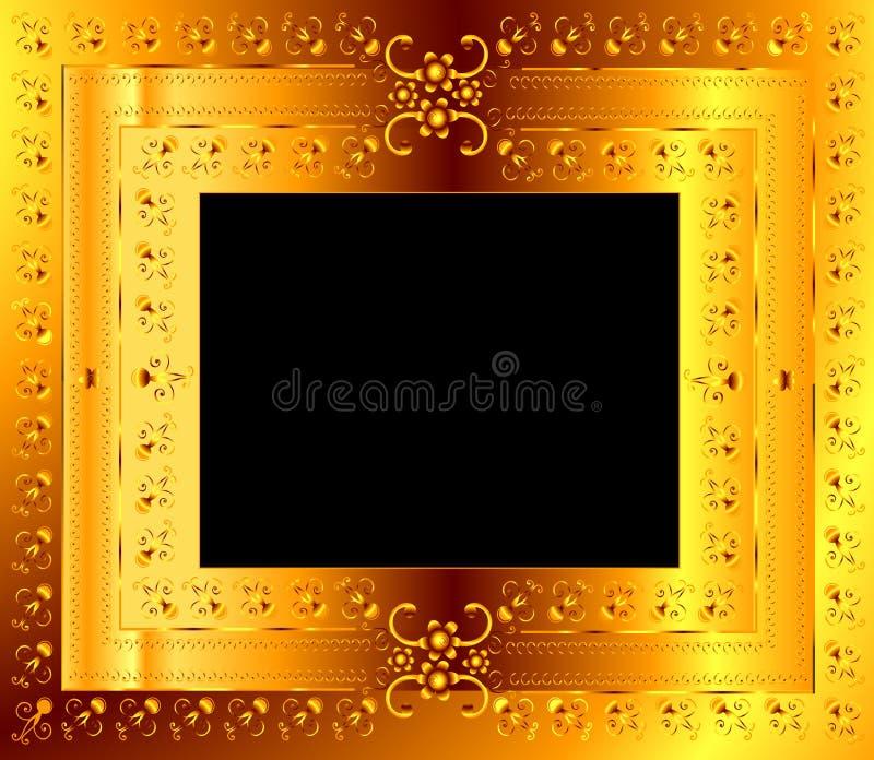 Download Floral frame stock vector. Illustration of accent, background - 5267955