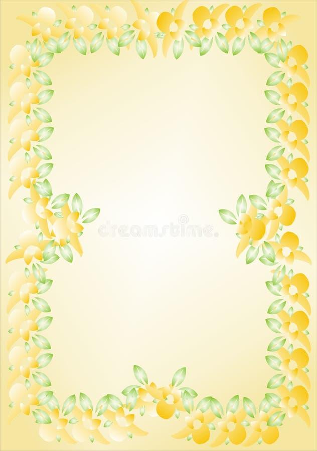 Download Floral frame stock vector. Illustration of background - 7388596