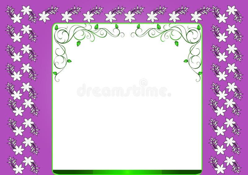 Download Floral frame stock vector. Image of flower, frame, beautiful - 7669581