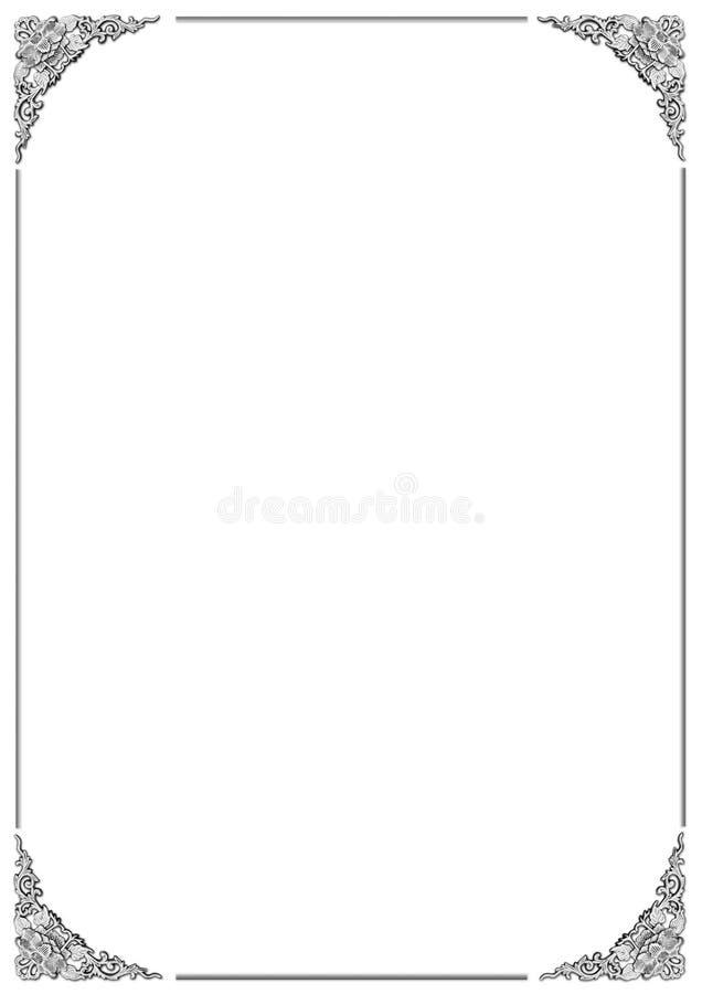 Download Floral frame stock image. Image of artwork, floral, border - 33827991