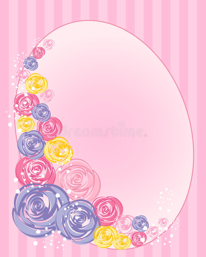 Download Floral greeting stock vector. Image of petals, abstract - 28420882