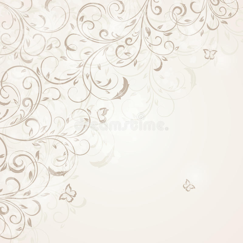 Download Floral greeting card stock vector. Image of decoration - 25177264