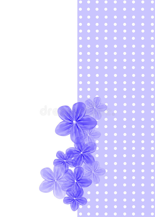 Download Floral Greeting Card stock illustration. Image of artistic - 27962281