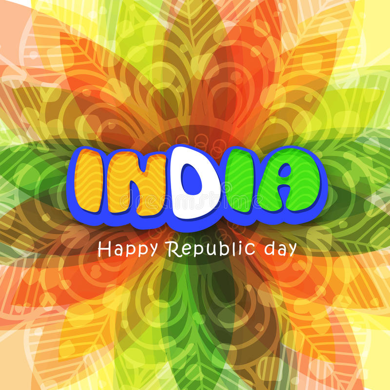 Floral greeting card for republic day stock image image of blue download floral greeting card for republic day stock image image of blue greeting m4hsunfo Image collections