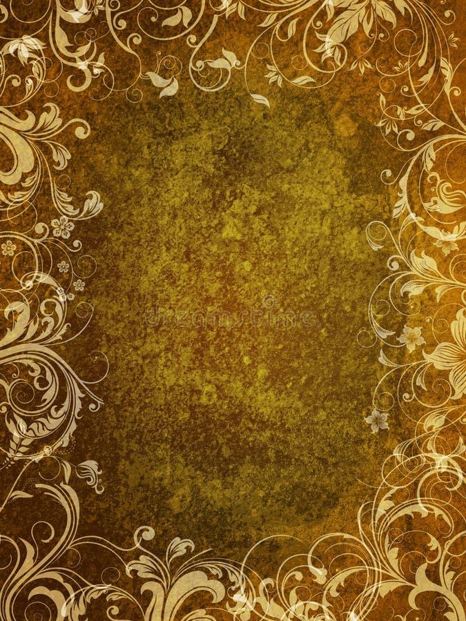 floral grunge σχεδίου στοκ φωτογραφίες