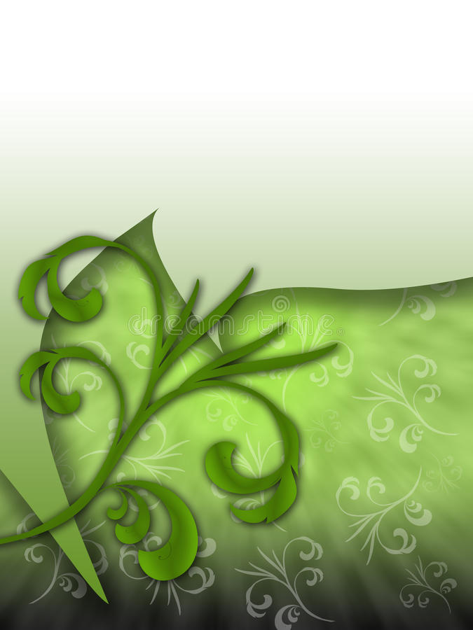 floral grunge 04 ανασκόπησης διανυσματική απεικόνιση