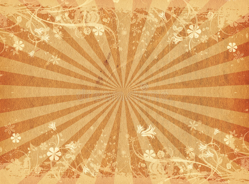 Floral grunge vector illustration