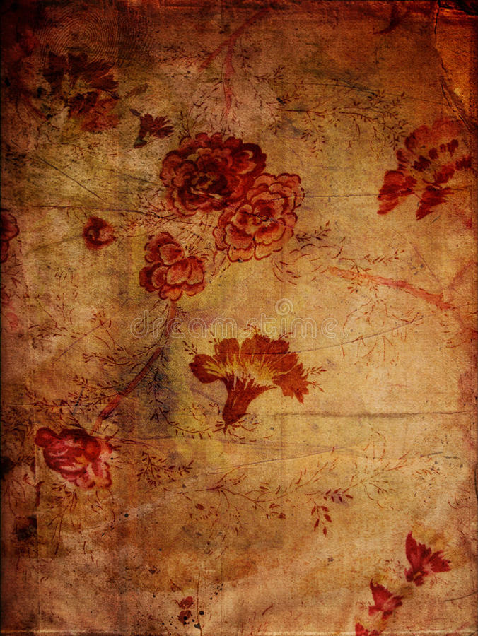 Free Floral Grunge Textures Royalty Free Stock Photography - 13440727