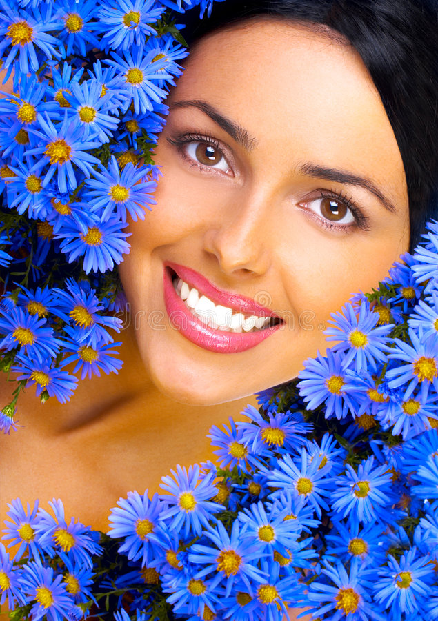 Floral Happiness Stock Image