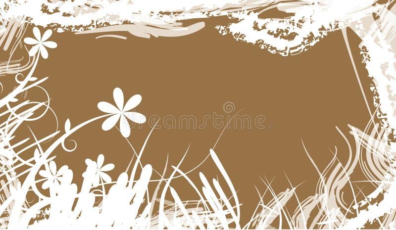 Floral illustration stock illustration