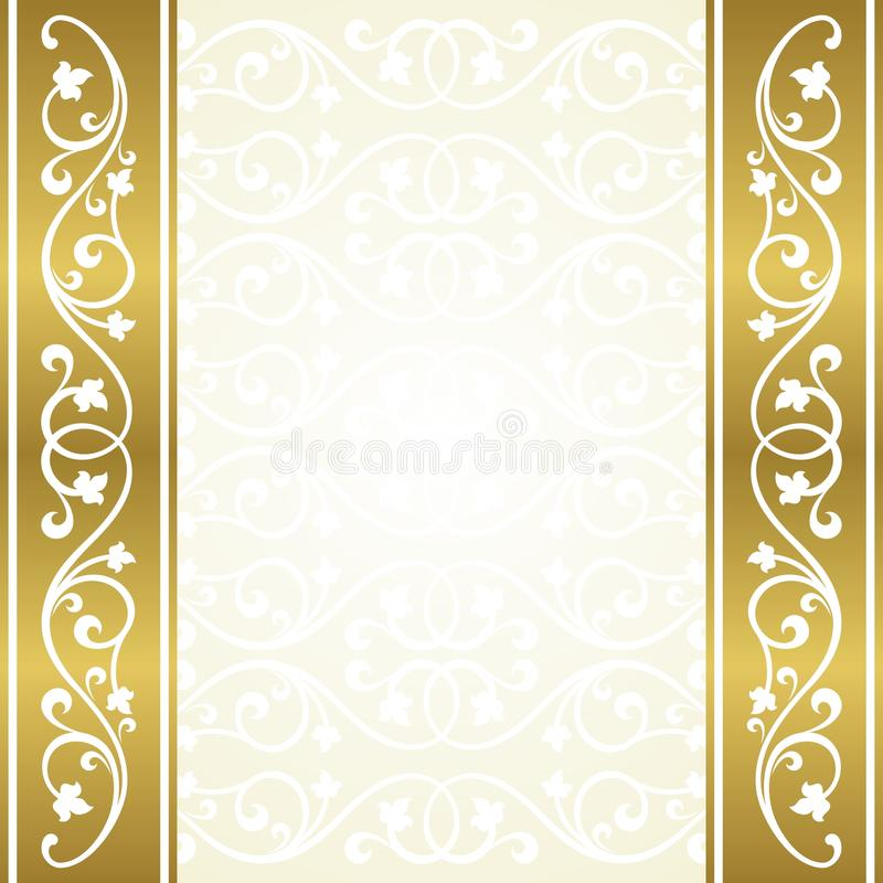 Floral Invitation Card Stock Vector Illustration Of Design