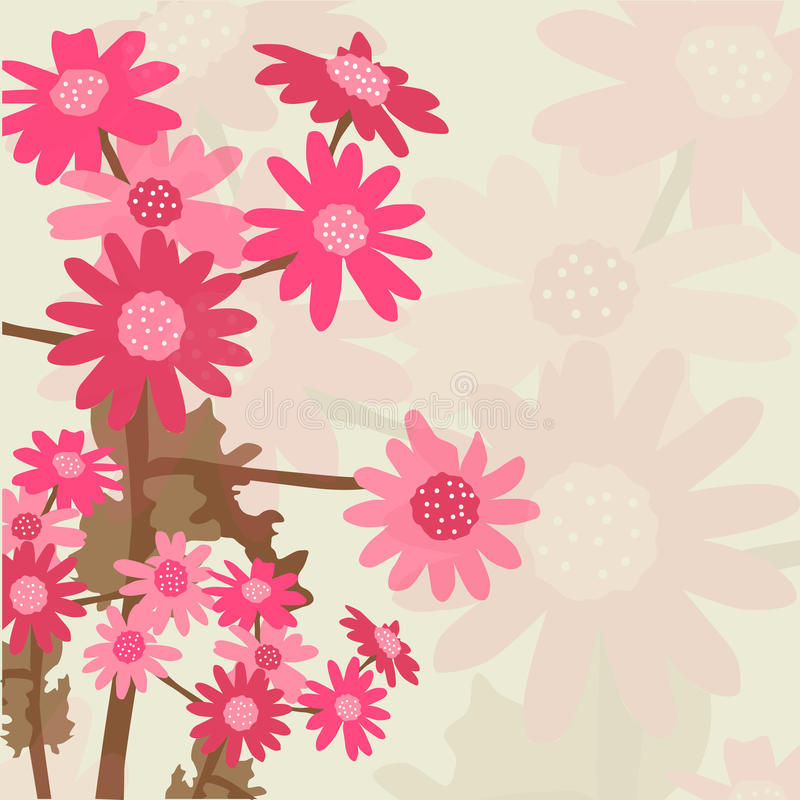 Download Floral invitation stock vector. Image of background, congratulation - 33601959
