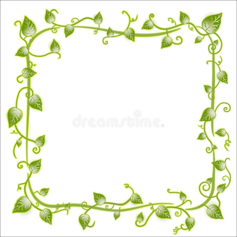 Download Floral Leaf Classic Frame Royalty Free Stock Photos - Image: 14203338