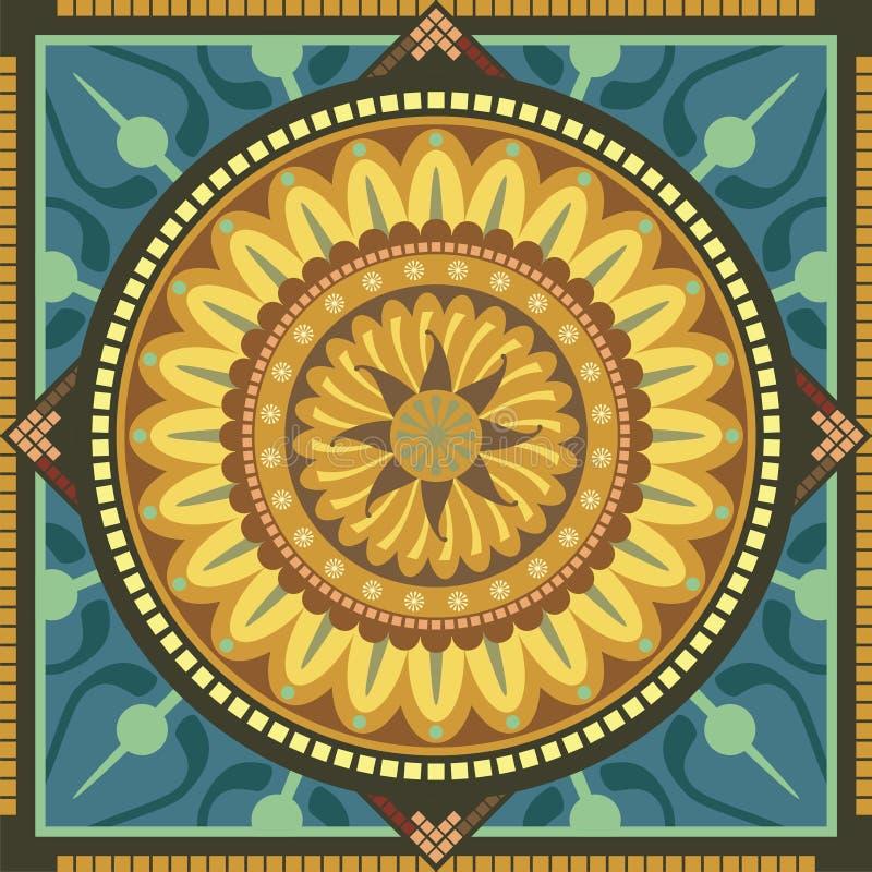 Download Floral Mandala stock vector. Image of balance, astrology - 24899928