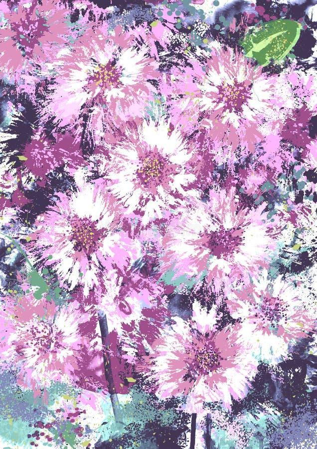 Download Floral mood. stock illustration. Illustration of decoration - 12590988