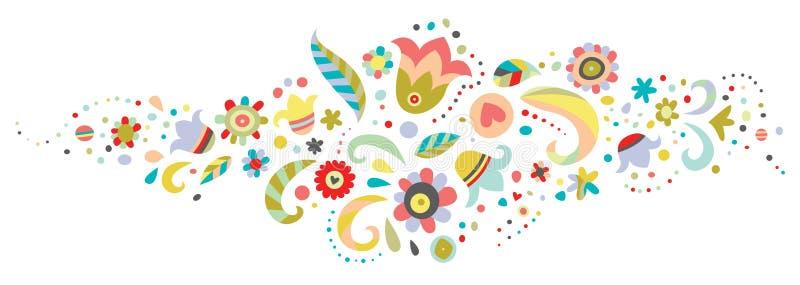 Download Floral Ornament stock vector. Image of playful, illustration - 15809318