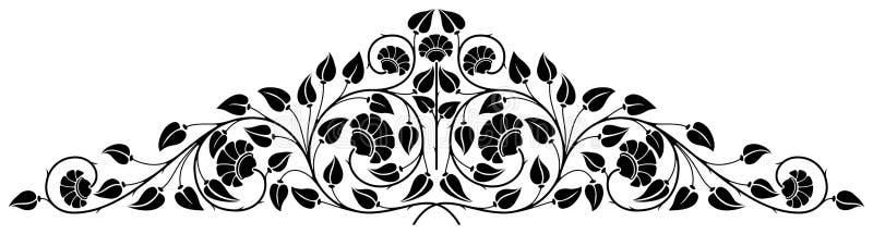 Floral ornament vector illustration