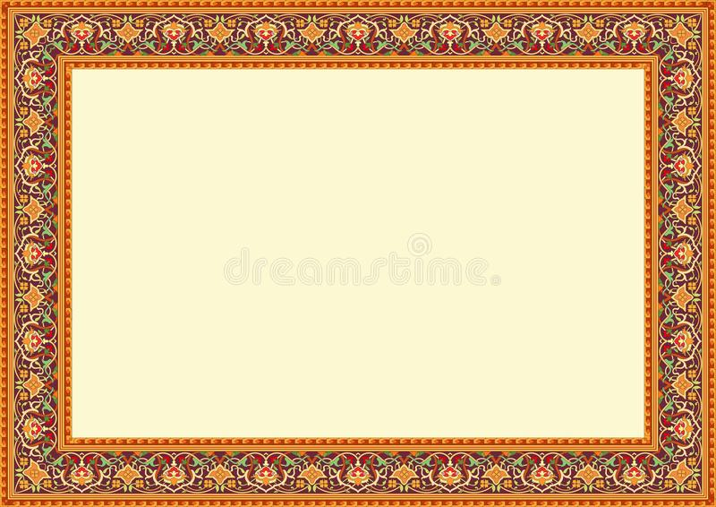Floral ornament frame border islamic traditional art stock vector download floral ornament frame border islamic traditional art stock vector illustration of wall altavistaventures Images