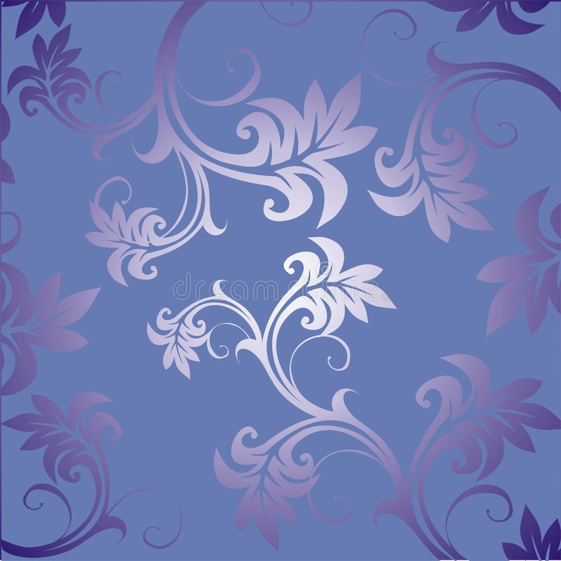Floral Ornament. Vector. Royalty Free Stock Images