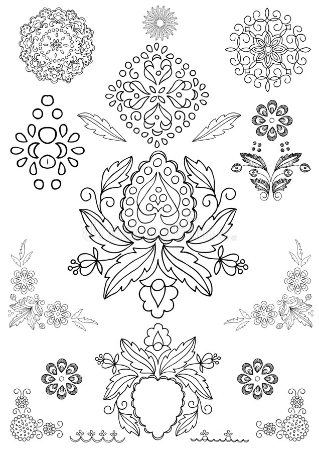 Free Floral Ornament Vector Stock Photo - 5226120