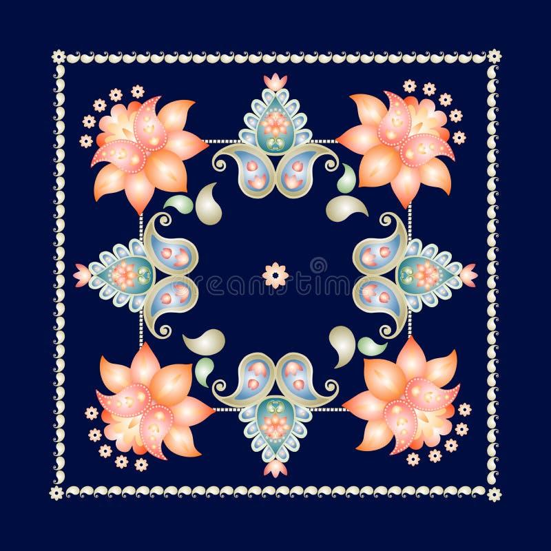 Batik Pattern Background In Vector Stock Vector