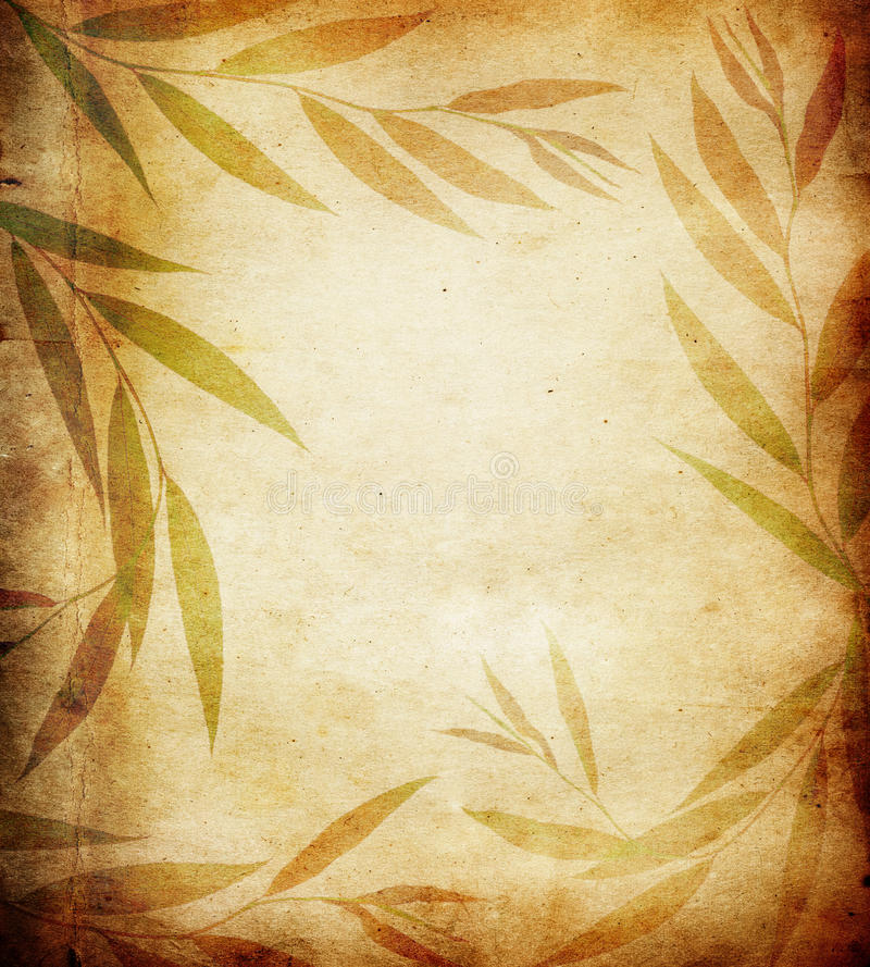 Floral Paper Royalty Free Stock Image