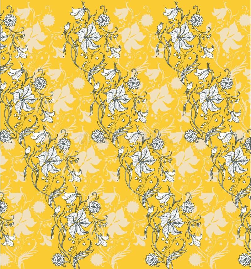 Download Floral patter stock vector. Illustration of antique, floral - 7273589