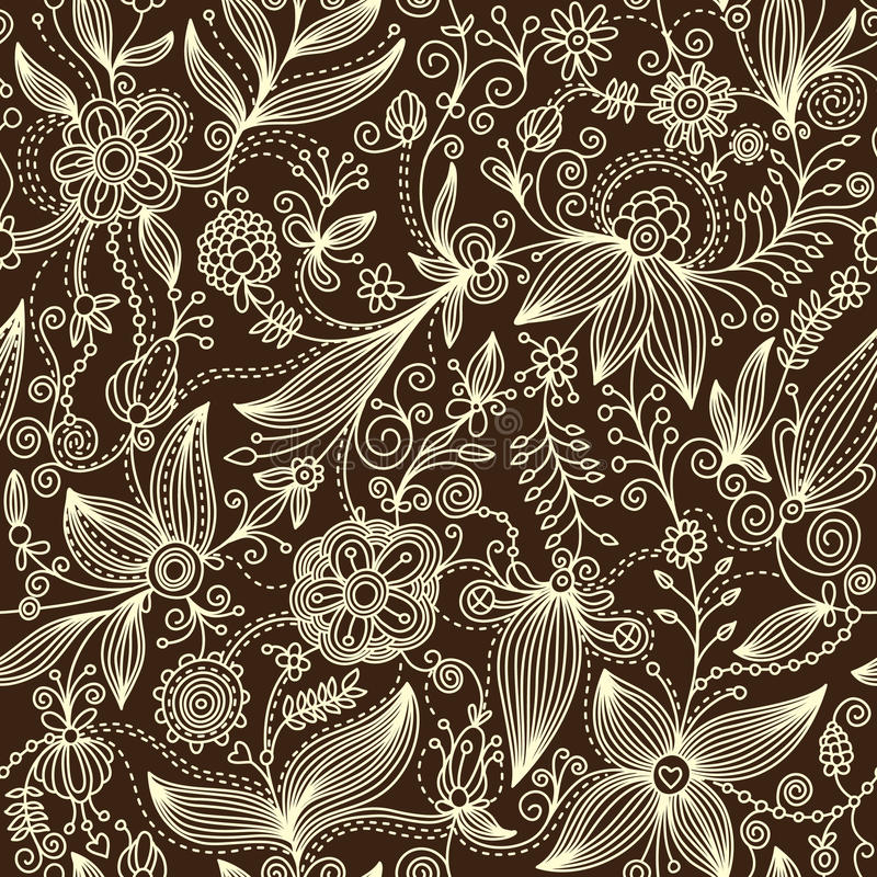 Free Floral Pattern Stock Photography - 10349152