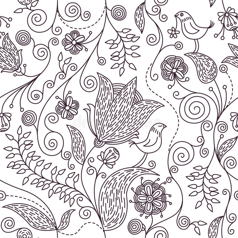 Download Floral pattern stock vector. Image of classical, filigree - 11371254