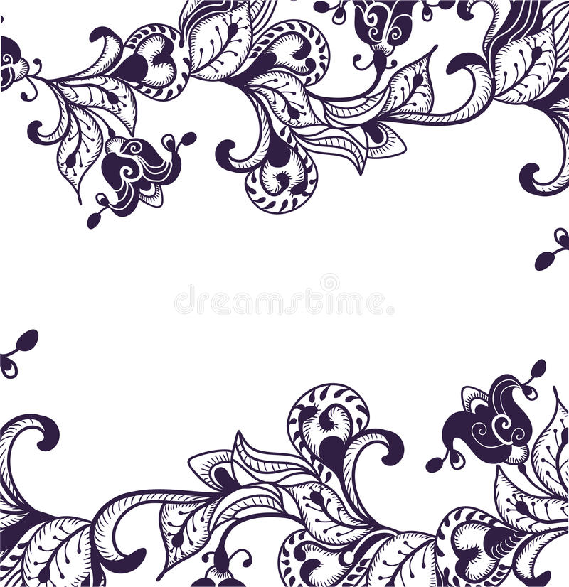 Download Floral pattern stock vector. Image of east, pastel, indian - 16296027