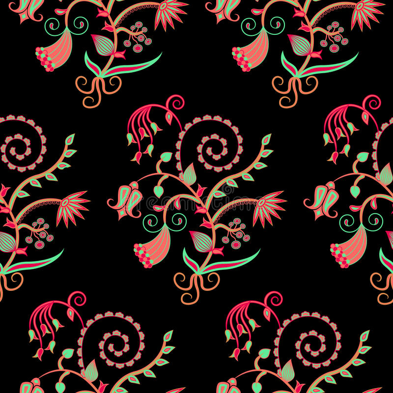 Download Floral pattern stock vector. Image of luxury, floral - 24608802