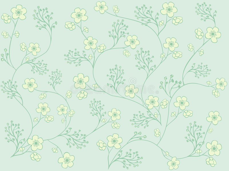 Floral pattern royalty free illustration