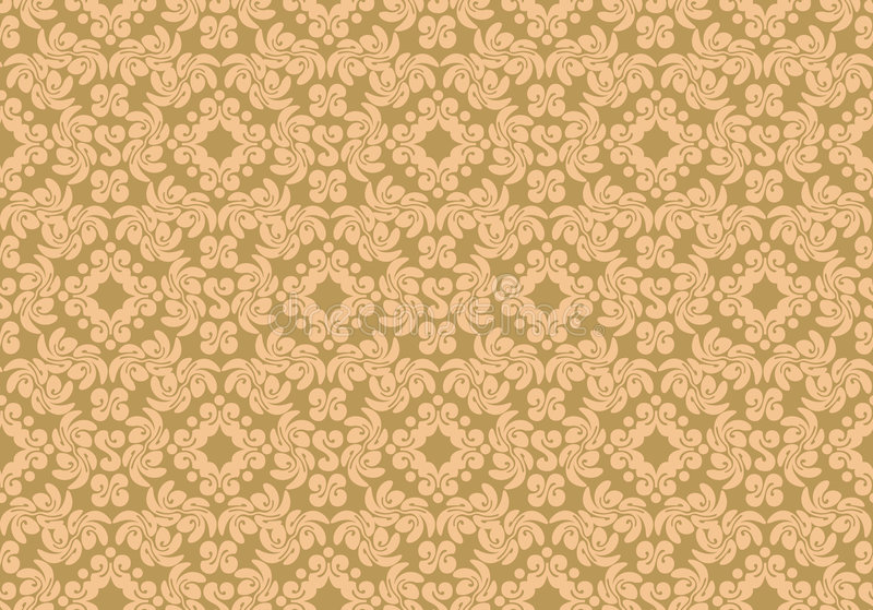 Floral pattern. The complex pattern. Vector image royalty free illustration
