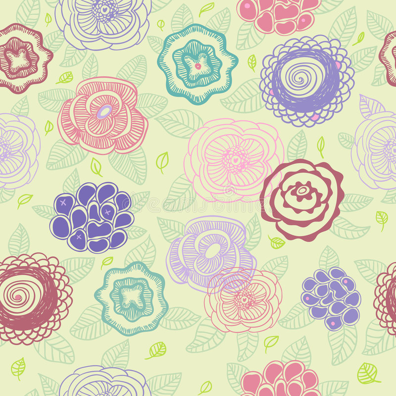 Download Floral Pattern Royalty Free Stock Image - Image: 8382926