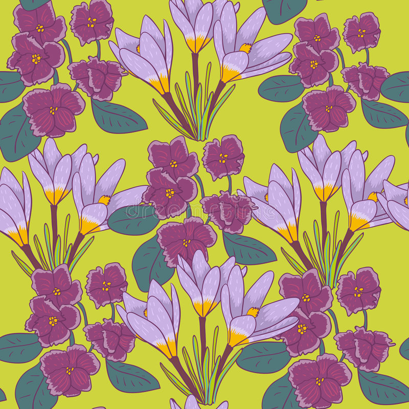 Download Floral pattern stock vector. Image of abstract, graphic - 9237110