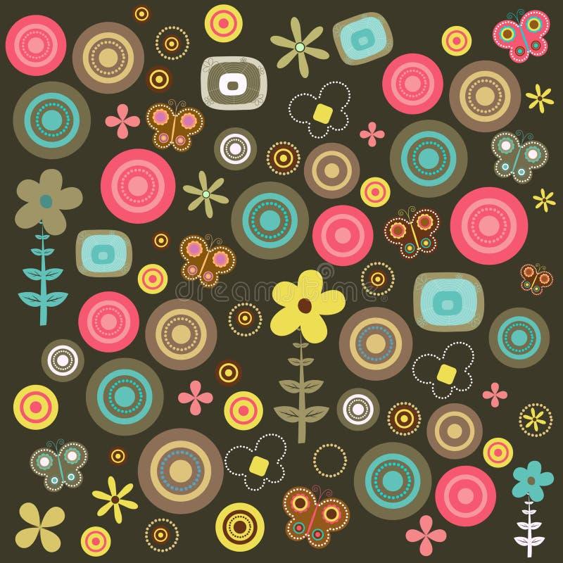 Download Floral pattern stock vector. Image of illustration, color - 9403738