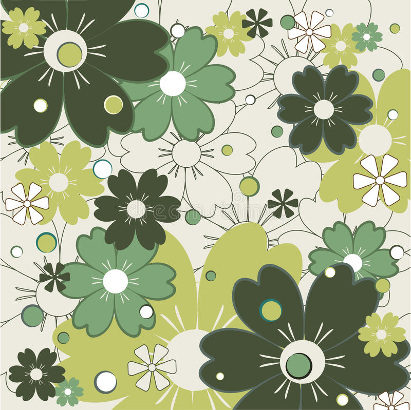 Download Floral Pattern stock vector. Image of color, graphic, light - 9744695