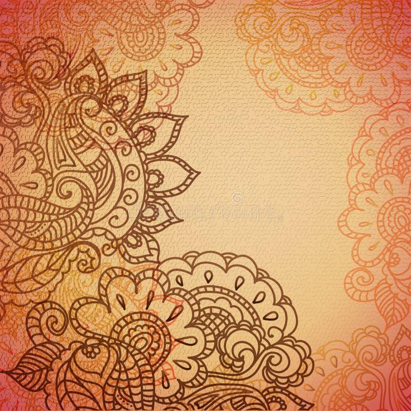 Download Vintage Paisley Ornament Background Stock Vector - Illustration: 30225706