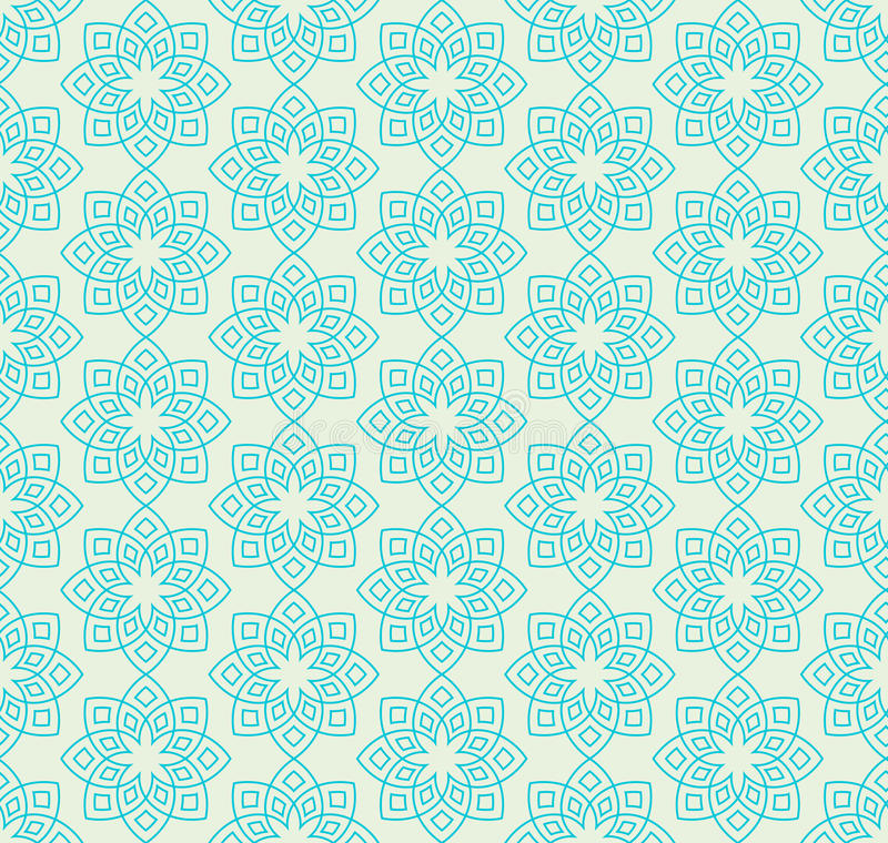 download floral pattern in mint green colors stock vector illustration of green gold