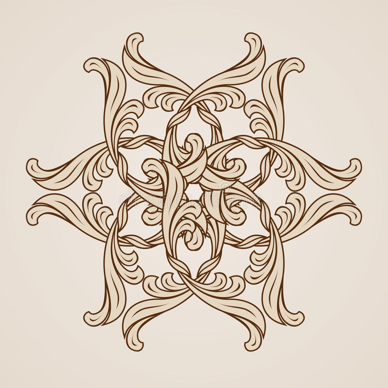 Floral pattern royalty free illustration