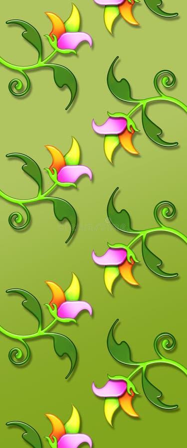 Floral pattern/print royalty free stock photo