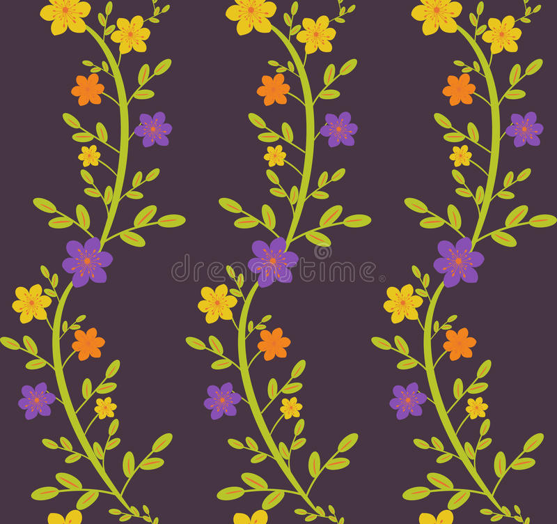 Download Floral pattern stock vector. Image of ornate, curve, flowers - 31017029