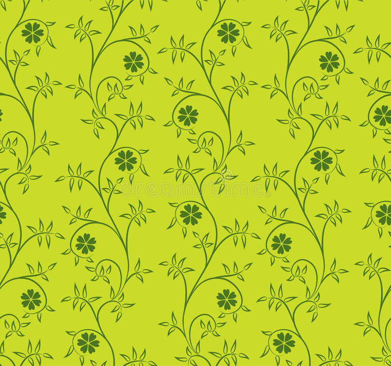 Floral pattern, vector. Floral abstract pattern, vector illustration vector illustration