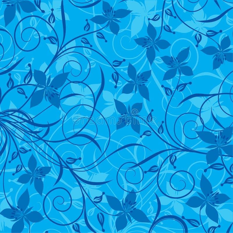 Floral pattern, vector stock illustration