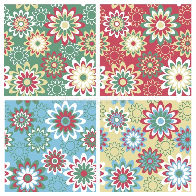Floral Pattern_Winter vector illustration