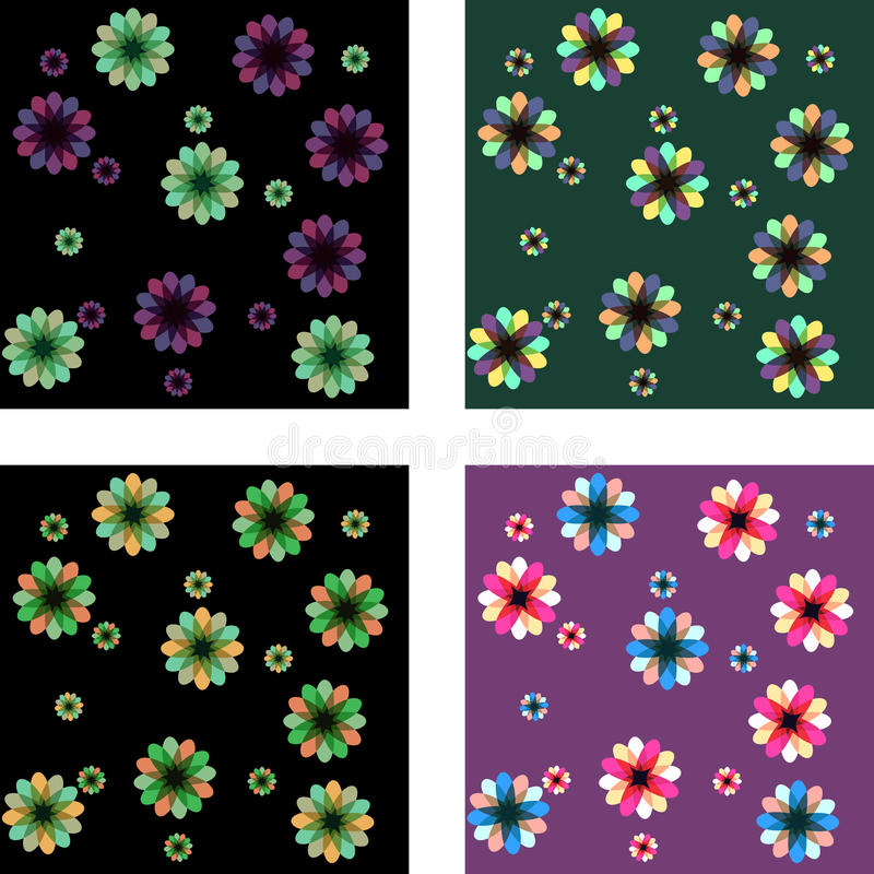 Download Floral patterns stock vector. Illustration of colors - 24155962