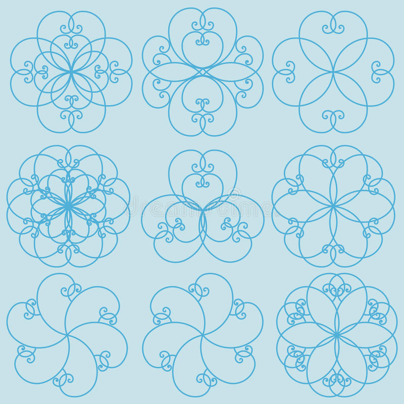 Floral Patterns vector illustration